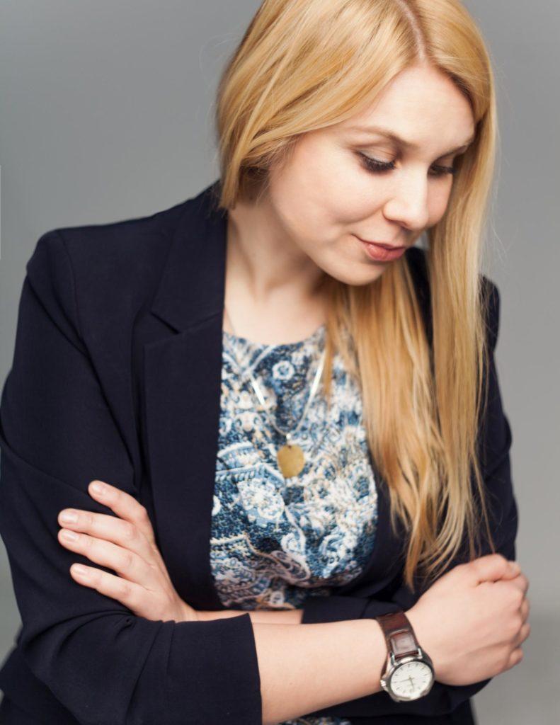 autorka bloga, Dominika Maciejewska